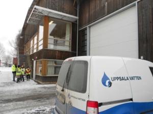 Uppsala biogas facility