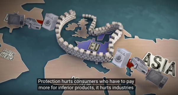 EUは貿易障壁でいっぱい